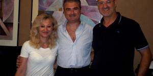 Da sinistra: la Rag. Laura Lattanzi, il Dott. Roberto Aquilino e il Prof. Claudio Liberatore in occasione della sottoscrizione della Convenzione Quadro.