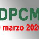 Coronavirus: le regole dei due decreti (DPCM 8 e 9 marzo 2020)
